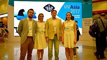 NITA-FARM on VIV Asia 2017 in Bangkok